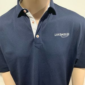 Lake of Isles Golf course polo footjoy sportswear